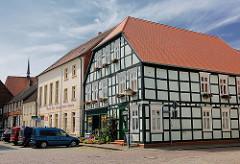 Fachwerkhaus am Markt - Hansestadt Werben.