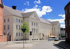 Rückansicht Kulturhaus / Festspielhaus in Wittenberge.