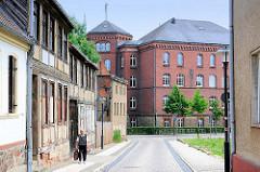 Historische Architektur Osteburg - Schulgebäude, Backsteingebäude.
