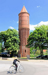 Wasserturm in Havelberg - Backsteinbau, erbaut 1890 / Kulturdenkmal.