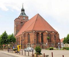Kirche St. Nicolai in Osterburg.