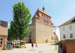 Havelberger Dom St. Marien - Domweihe 1170, gotischer Umbau 1330.