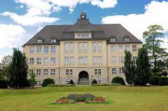 Marie Curie Gymnasium ( Haus 2 ) in Wittenberge - Gebäude 1900 errichtet.