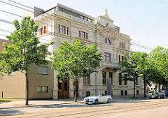 Gebäude Handwerkskammer Magdeburg  / Haus des Handwerks. Gründerzeitgebäude, erbaut 1898.