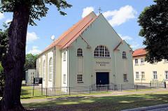 Gebäude der Neuapostolischen Kirche in der Hansestadt Havelberg.