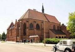 Katharinenkirche / Katharinenkloster in Stendal - spätgotischer Backsteinbau.