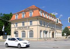 Gebäude Stadtwerke - Altmärkische Gas-, Wasser- u. Elektrizitätswerke Stendal.