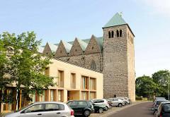 Kirche St. Petri in Magdeburg - dreischiffige gotische Hallenkirche, ursprünglich erbaut 1480.