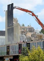 Abriss der Esso-Häuser auf Hamburg St. Pauli.