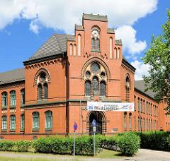Marie Curie Gymnasium ( Haus 1 ) in Wittenberge - Gebäude 1900 errichtet.