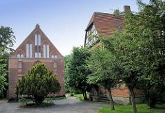 Katholische Michaeliskirche / Kirche St. Michael - erbaut 1898. in der Hansestadt Gardelegen -