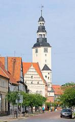 Hausmannsturm vom historischen Rathaus der Hansestadt Gardelegen.