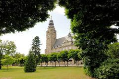 Rathaus Wittenberge - erbaut 1914; Entwürfe Stadtbaurat Friede Everhard Bruns / Heinrich Mußfeld.