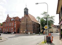 Getraudenkapelle Salzwedel - Backsteinensemble / Hospital; gotische Pilgerkapelle, erbaut 1460.