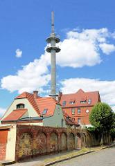 Fernmeldeturm der Stadt Perleberg -