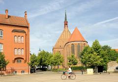 Mönchskirche in Salzwedel - als Fanziskaner Klosterkirche ab dem 13. Jhd. errichtet.