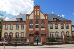 Amtsgericht in Perleberg, Lindenstrasse - das Gebäude steht unter Denkmalschutz.