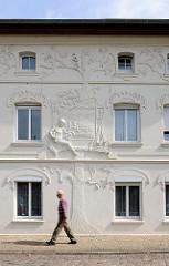 Jugendstilfassade - Wohnhaus / Handwerkerhaus Hansestadt Salzwedel