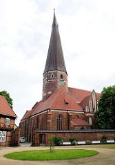 St. Katharinenkirche in der Hansestadt Salzwedel - Backsteinbasilika; ursprünglich im 15. Jhd. erbaut.