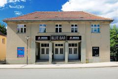 Ehem. Kino in der Wittenberger Strasse von Perleberg; jetzt Bar.
