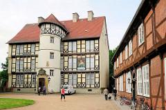 Hauptgebäude der Probstein in Salzwedel - erbaut 1578; jetzt Johann-Friedrich-Danneil-Museum.