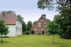 Gutshaus von Kielmansegg in Seestermühe; Kreis Pinneberg.