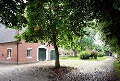 Gebäude vom Gutshof von Kielmansegg in Seestermühe.