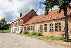 Historische Industriearchitektur - Ziegelgebäude, Gewerbegebiet Hansestadt Kyritz.