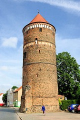Turm der Stadtmauer an der Altperverstrasse, Hansestadt Salzwedel.