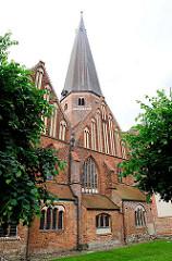 St. Marienkirche in der Hansestadt Salzwedel - Backsteinbasilika; ursprünglich im 15. Jhd. erbaut.
