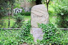 Gedenkstein für J. F. Danneil in Salzwedel.