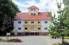 Restaurierter Alter Speicher in Kyritz - Gewerbe.