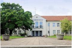 Schulgebäude Carl-Diercke-Schule in Kyritz, Pritzwalker Strasse.