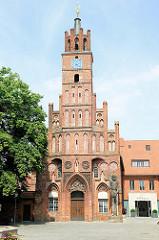 Altstädter Rathaus in Brandenburg an der Havel.