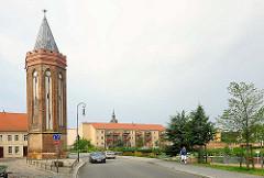 Mühlentor in Brandenburg an der Havel - 1411 vom Stettiner Baumeister Niklaus Kraft errichtet.