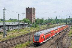 Ehem. Güterbahnhof / Wasserturm  Brandenburg an der Havel.