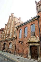 Altstadt Brandenburg an der Havel - Ordonanzhaus / gotisches Patrizierhaus, erbaut um 1300