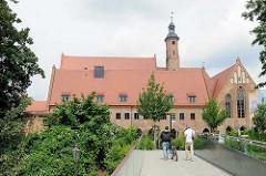 Dreischiffige Klosterkirche vom St. Paulikloster in Brandenburg an der Havel - ehem. Dominikanerkloster.