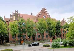 Johann Wolfgang von Goethe Gymnasium in Pritzwalk; Ziegelbau, 1904 erbaut.