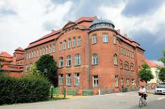 Gebäude von Saldern Gymnasium; Städtisches Gymnasium in Brandenburg an der Havel.