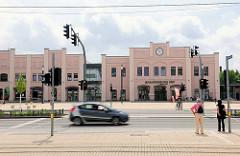 Bahnhofsgebäude von Brandenburg an der Havel - Brandenburg Hauptbahnhof, eröffnet 1846.