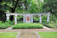 Sowjetischer Ehrenfriedhof in Brandenburg an der Havel.