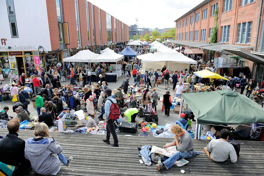 Flohmarkt Hamburg Altona