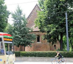 Backsteingotik in Brandenburg an der Havel - St. Nikolaikirche, dreischiffige Basilika - erstmalig 1173 erwähnt.