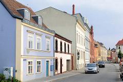 Wohnhäuser am Mühlendamm von Brandenburg a. d. Havel.