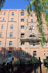 Industriearchitektur / Backsteingebäude; Silo der Elde Mühle in Parchim; die Produktion wurde 2008 aufgegeben.