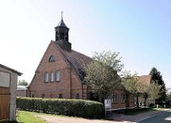 Römisch-katholische Kirche in Lübz - Pfarrkirche Herz Jesu.