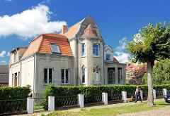 Stadtvilla in Jugenstil-Architektur / Gründerzeitbaustil in Neustadt-Glewe.