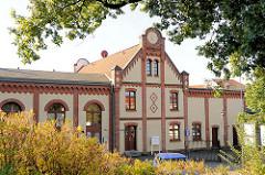 Historische Gewerbearchitektur / Industriearchitektur; Stiftstrasse in Lübz.