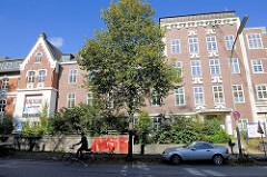 Ehem. Krankenhaus Bethanien in Hamburg Eppendorf, Martinistrasse - das Gebäude steht z.Zt. leer; es soll zu Wohnungen umgebaut werden.